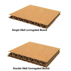 Single and Double Wall Corrugated board